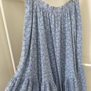 Handmade prairie skirt